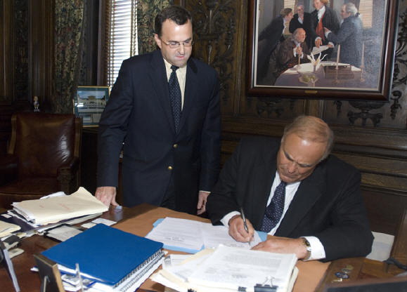 Governor Rendell signs Perfusion Licensure Bills